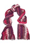 Chevron knit wool blend scarf by Missoni, $152 from theoutnet.com.