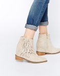 Supertrash Hidden Wedge Luna Suede Fringed Boots, $255 from asos.com.au.