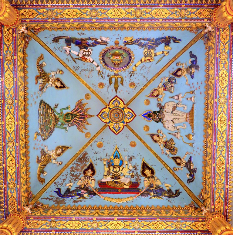 Ceiling at Patuxay