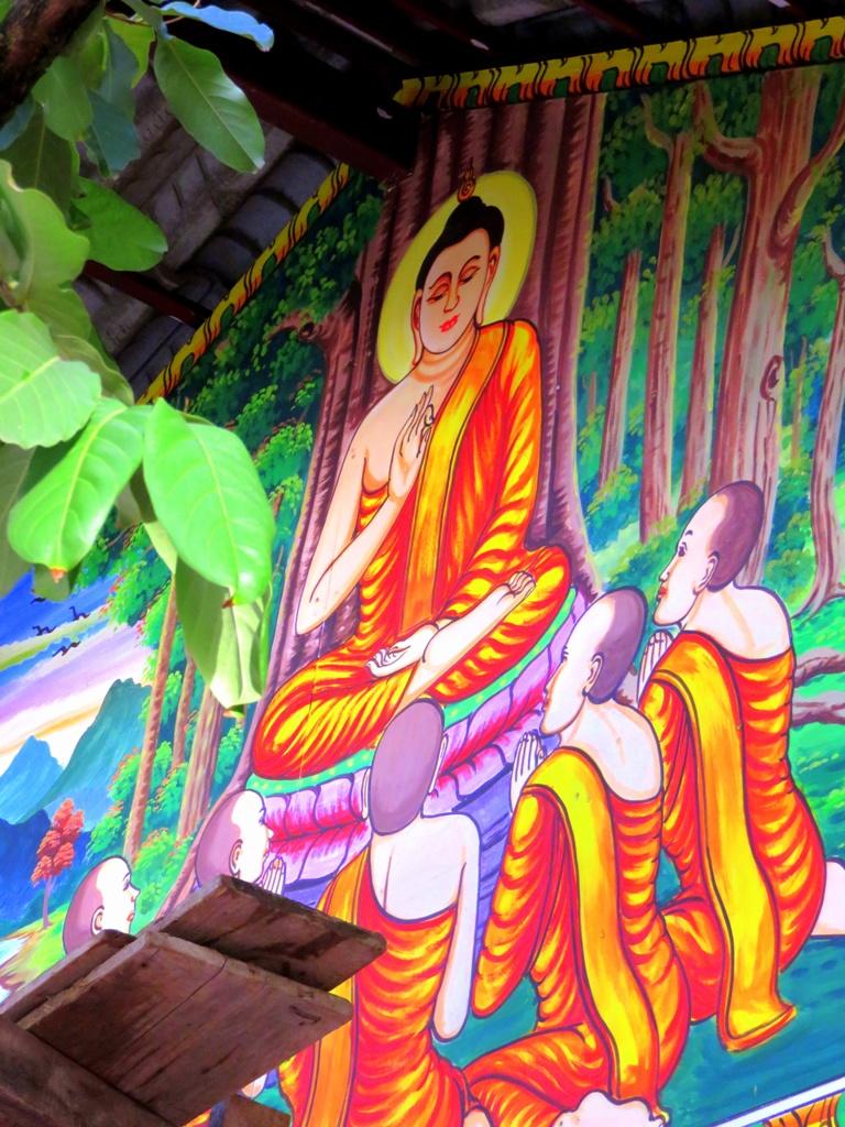 sisaket_buddha_painting