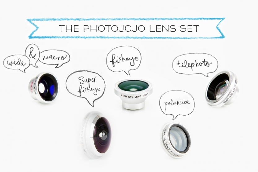 Mother's Day gift guide - photojojo magnetic lens set