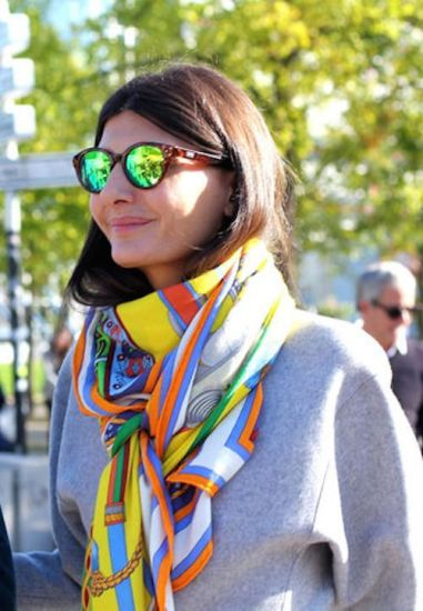colourful scarf three