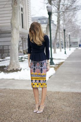 colourful skirt three