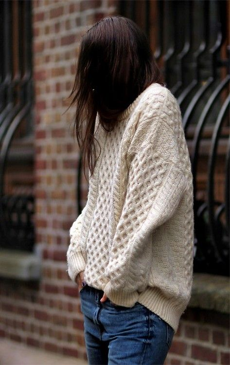 oversized sweater one