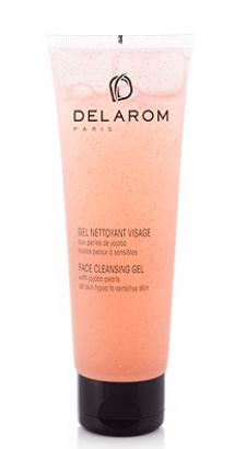 Delarom face cleansing gel